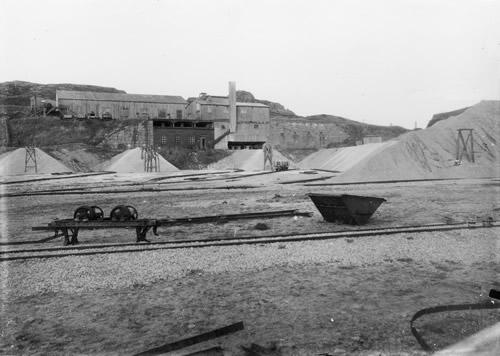 Hammerens Granitværk ved havnen