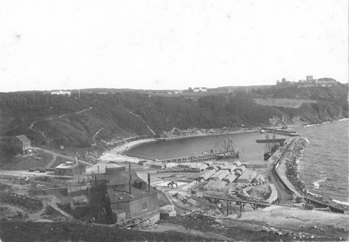 Hammerhaven, dengang den var en travl industrihavn.