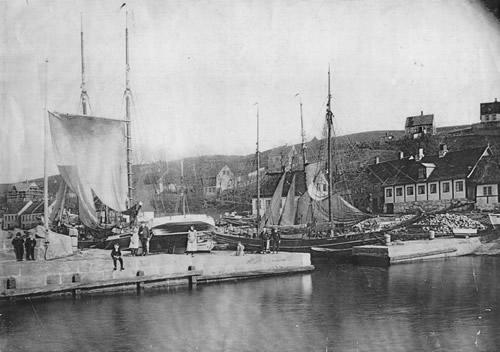 Vang havn 1897