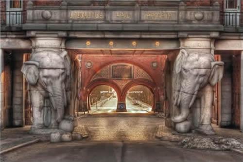 Elefantporten på Carlsberg